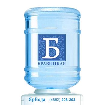 Питьевая вода «Бравицкая» с доставкой по Ярославлю